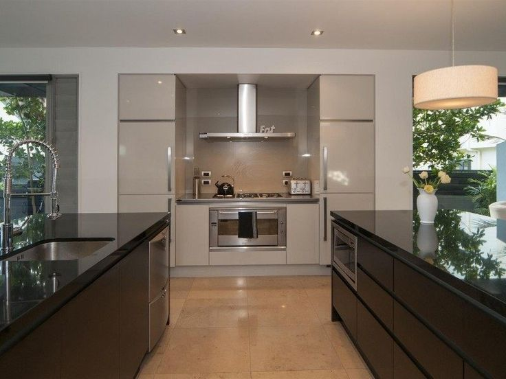 Could re-orient our kitchen, so that the stove / rangehood are blocking the neighbours (i.e. northern end of the kitchen)