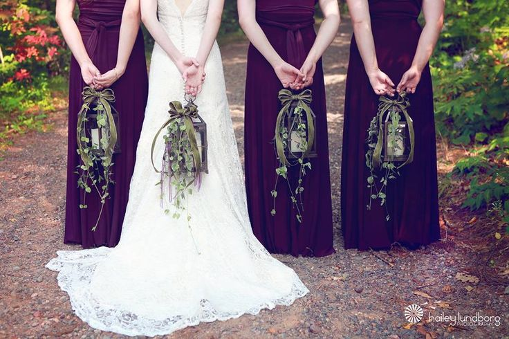 Of Wedding Party Bridal Lanterns Bouquet Alternative Photo Credit Hailey Lundborg
