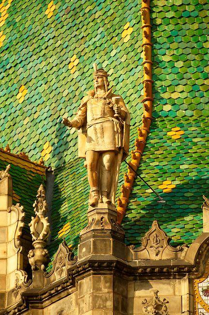 Iparművészeti Múzeum, Budapest, Zsolnay-tető