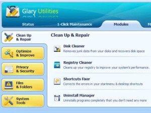 Glary Utilities - PC Schneller machen - Kostenlos bei UltraKostenlos und KoLo