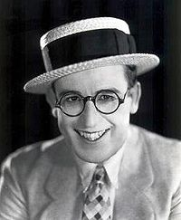 """Harold Lloyd ranks alongside Charlie Chaplin and Buster Keaton as one of the most popular and influential film comedians of the silent film era. Lloyd made nearly 200 comedy films, both silent and """"talkies"""", between 1914 and 1947. He is best known for his """"Glasses Character"""", a resourceful, success-seeking go-getter who was perfectly in tune with 1920s era America."""
