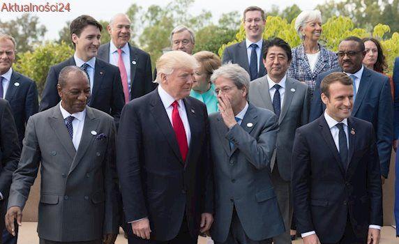 Apele do Rosji i USA na koniec szczytu G7. Uchodźcy tematem numer jeden