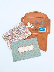 A handy tool to help make your own envelopes - Wooden envelope template