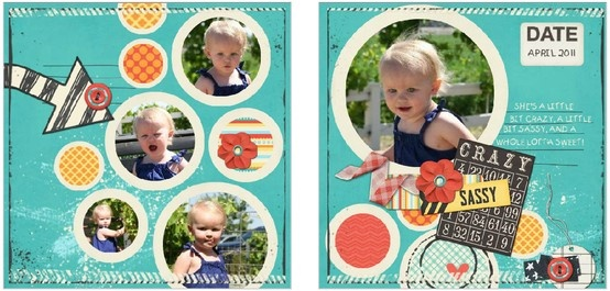 """Sassy Pants square flip book...for all those silly photos and """"terrible"""" toddler moments! (HM Template Id: 103143)    I can't wait to make this book for my little miss. Make yours at TakeTimeToRemember.com"""
