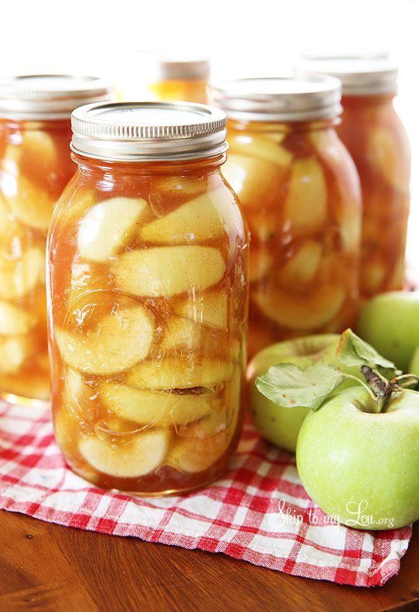 Homemade Apple Pie Filling Recipe - Skip to my Lou