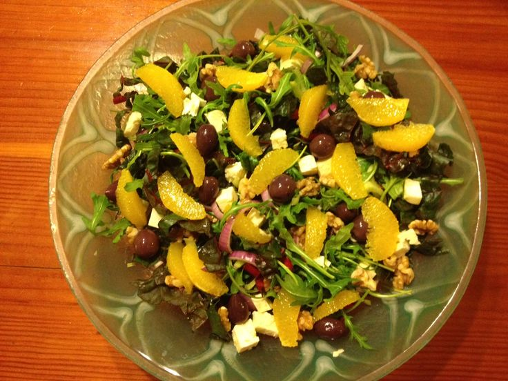 orange, fennel, and walnut salad   Food   Pinterest