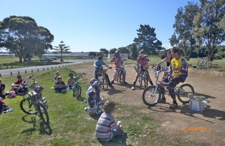 BMX Bike Day with Sport Horowhenua and levin BMX Club - Thursday February 16, 2012, Donnelley Park, Levin #pnpersonnel