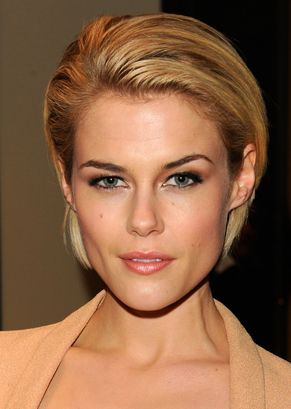 Loving Rachael Taylor's sophisticated cut. Follow her lead with darker brows using the Prestige Cosmetics 'My Ultimate Brow Definer Pencil.'