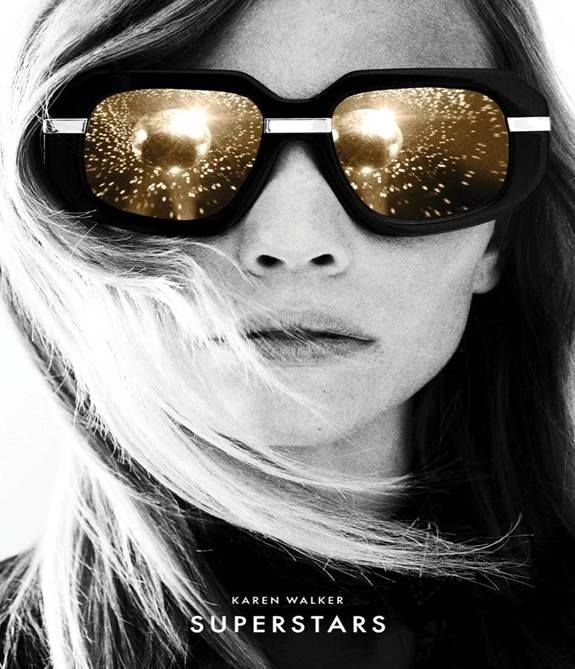 Karen Walker Eyewear introduces a new capsule collection of SUPERSTARS. Inspired by black and white images of Studio 54 in its heyday, the collection features six most-loved Karen Walker Eyewear styles reinvented in solid black acetate and highlighted with gold or silver mirror lenses and matching hardware.  Find them now in Store #QVB #Lifestyleoptical #Karenwalker #Karenwalkersuperstars #Sydneywestfield #BoutiqueOptical