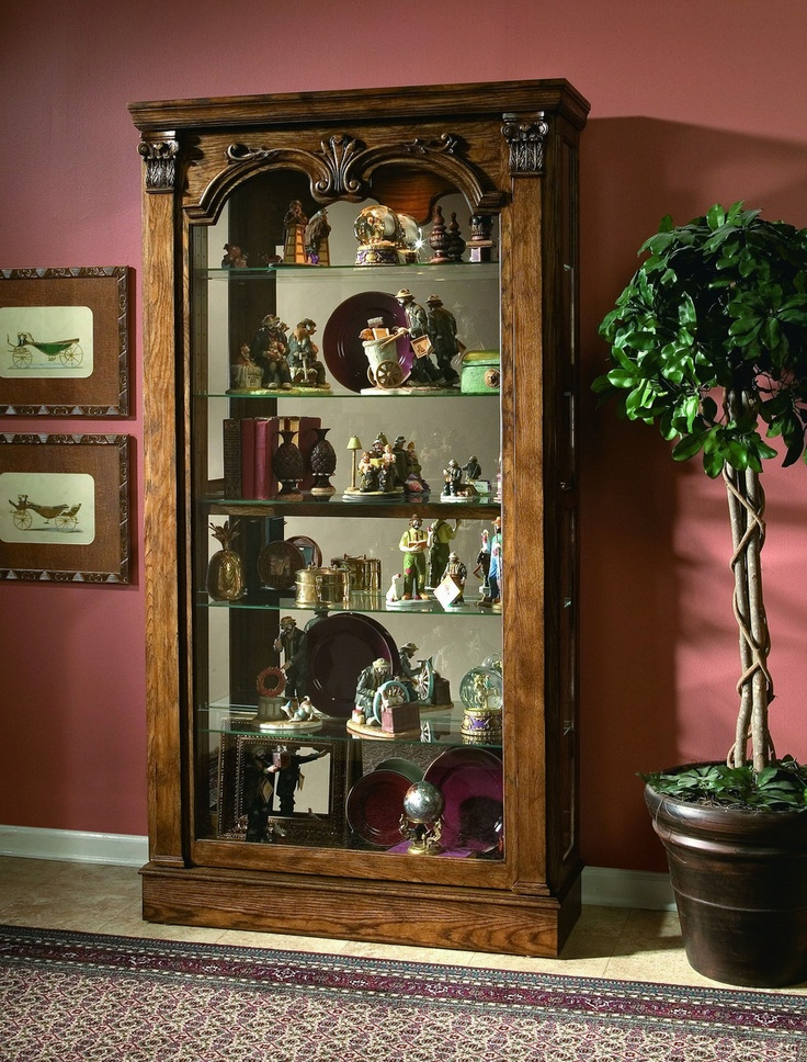 Foyer Curio Cabinet : Best images about collectable cabinets on pinterest