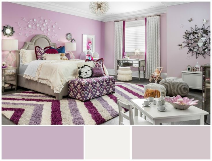 Layla's Bedroom - Moving the McGillivrays | @parapaints Breathless P51433-340, Out for a Stroll P5204-14, Keepsakes P5190-340