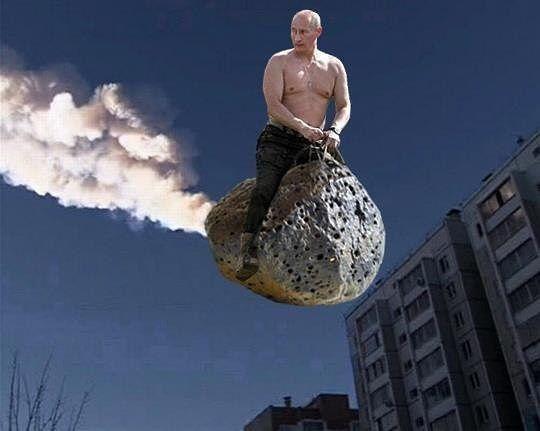 Putin der Wilde