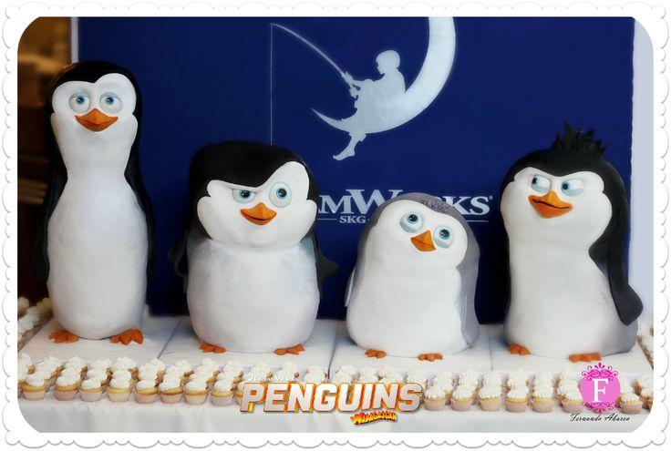 Penguins Of Madagascar Cake Decorating Kit 1 : 165 best images about Madagascar Cakes on Pinterest Madagascar, Birthday cakes and Penguins