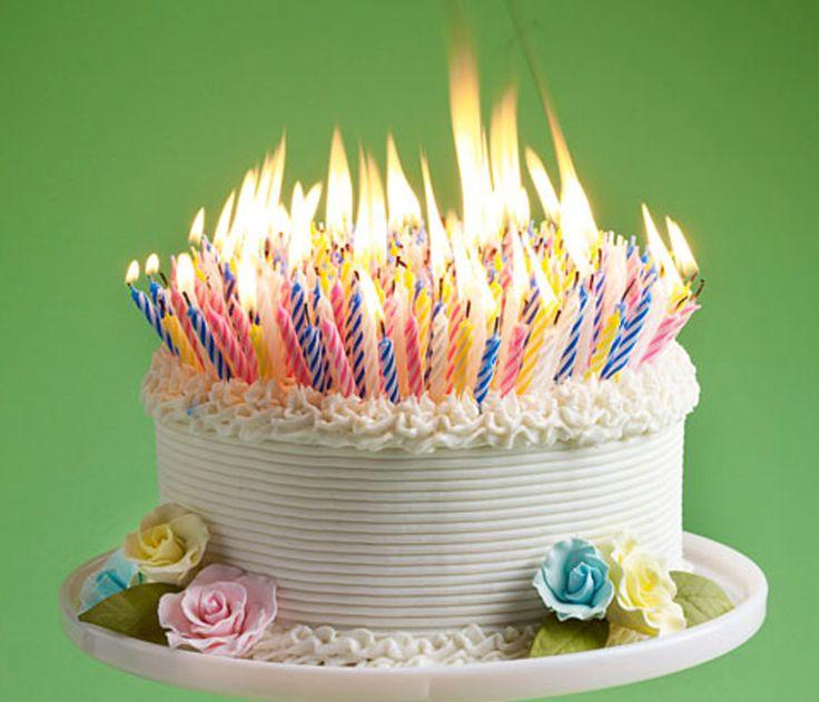 "Birthday Cake for the ""Elderly""!  LOL!"