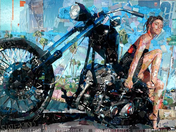 derek gores original artwork collage - Picture Collages