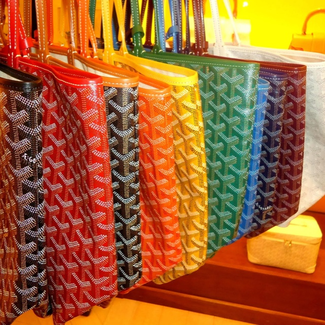Goyard St. Louis Tote, an essential for stylish women of the world.