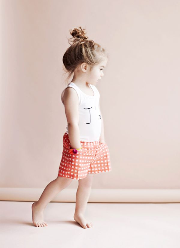 this is adorable. just had to repin.: Little Girls, Polka Dots, Kids Fashion, Outfit, Messy Buns, Children, Baby Girls, Hair, Knot