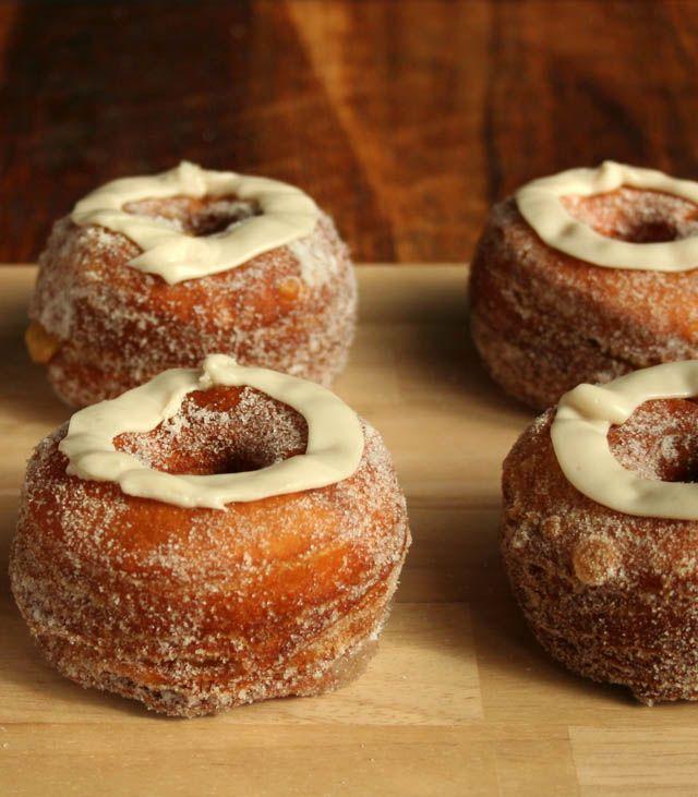 Pumpkin Maple Croissant Donuts