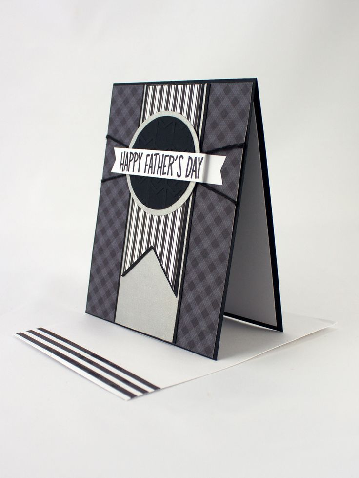 """Handmade Father's Day Card - """"Happy Father's Day"""". Fathers Day..."""
