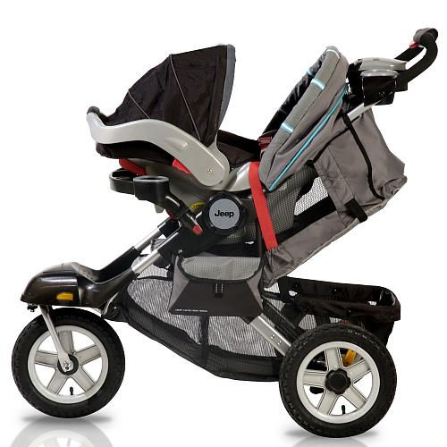 "Jeep Liberty Limited All Terrain 3 Wheel Stroller - Galaxy - Jeep - Babies ""R"" Us"