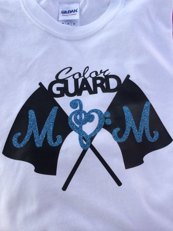 Color Guard Mom shirt by ShowItProud on Etsy