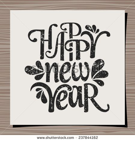The 25+ best New year typography ideas on Pinterest New years - new year greeting card template