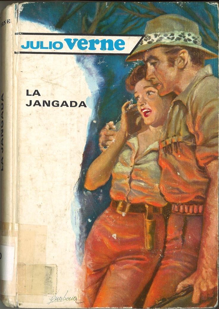 La jangada / Julio Verne. -- Barcelona : Molino, [1958]   220 p. ; 20 cm.     En el lomo : 21.     D.L. B 1199-1958  * BPC González Garcés ID 71