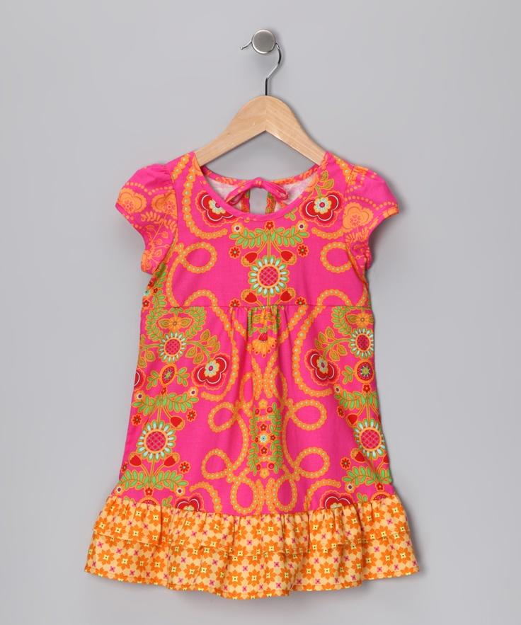 Hippo Hula Pink Melanie Dress - Toddler | Pink, Toddlers ...
