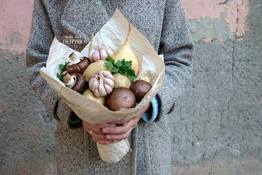 Такая вот петрушка! Букеты из овощей и фруктов | ВКонтакте