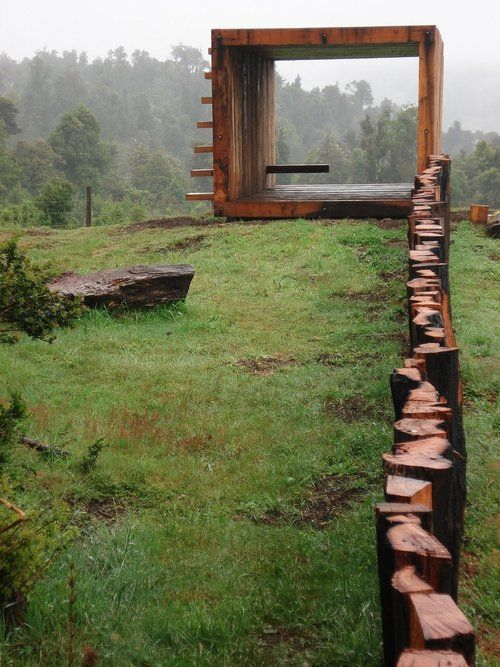 Lookout - Pinohuacho, Comuna de Villarrica, Chile  Grupo Talca  2006