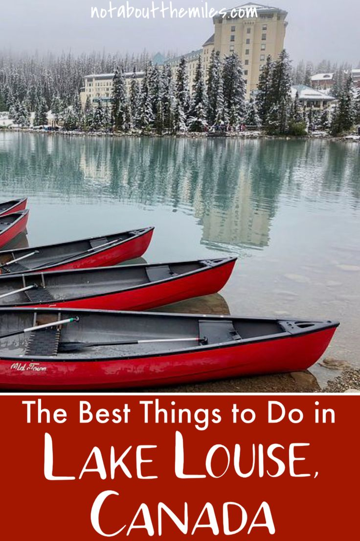 What to Do in Lake Louise, Canada