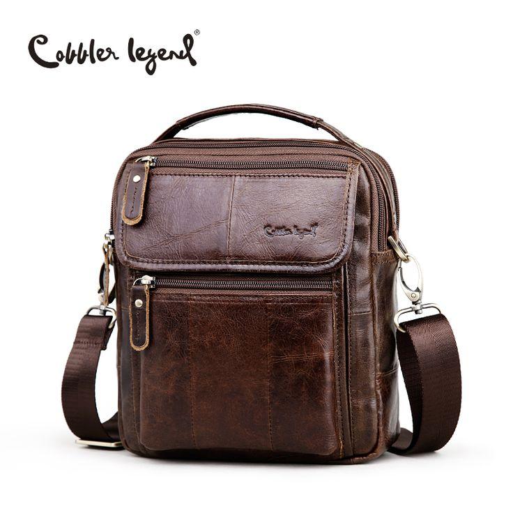 <b>Cobbler Legend</b> Brand <b>Men's Genuine</b> Leather Business Bag 2018 ...