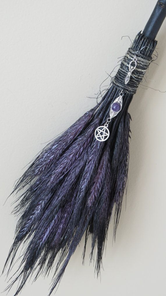 Altar BroomBroom Besom Broom Witches Besom by WayOfTheCauldron