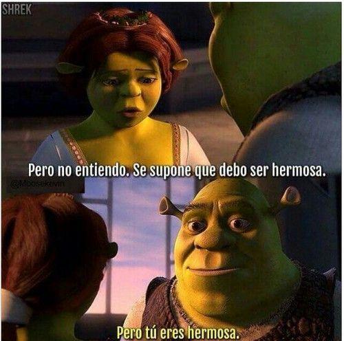 Imagen De Shrek Fiona And Frases Shrek Quotes Fiona Shrek Favorite Movie Quotes