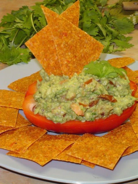 Paleo Tortilla Chips (made with almond flour)