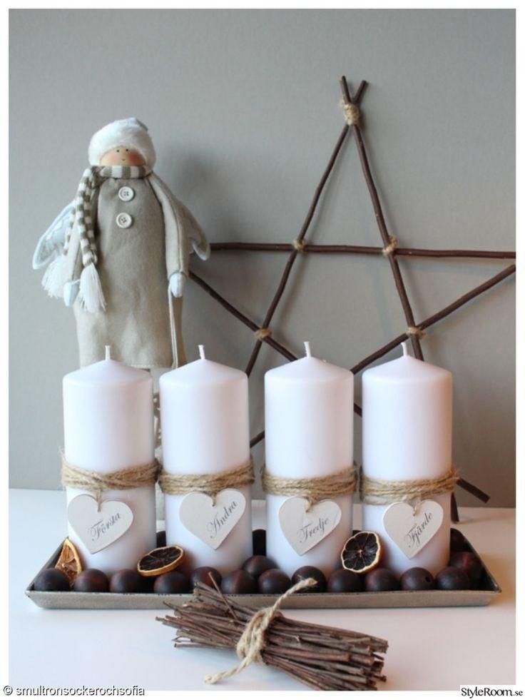advent,adventsljusstake,ljus,stjärna,trästjärna,siatomte,tomte,jul
