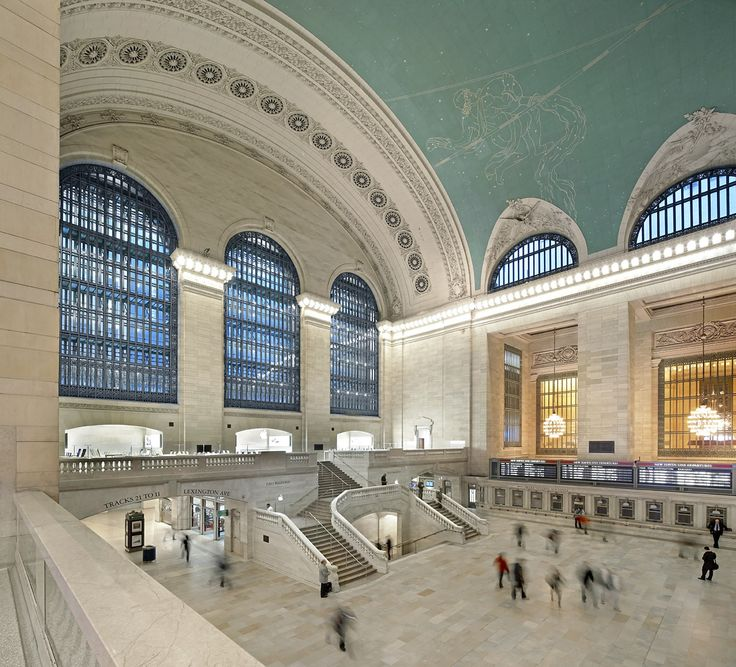 The grandeur of Grand Central station. Photo by Hufton + Crow.