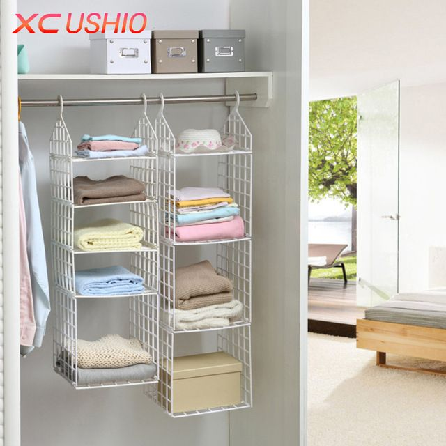 Hanging Closet Shelves Innovative Decoration With Images