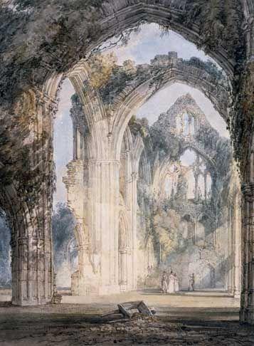 Tintern Abbey - Joseph Mallord William Turner