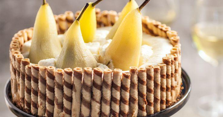 #torcik gruszkowy. #delektujemy #pear #cake #bday #desert