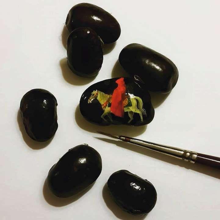 Новые удивительно миниатюрные картины от Хасана Кале