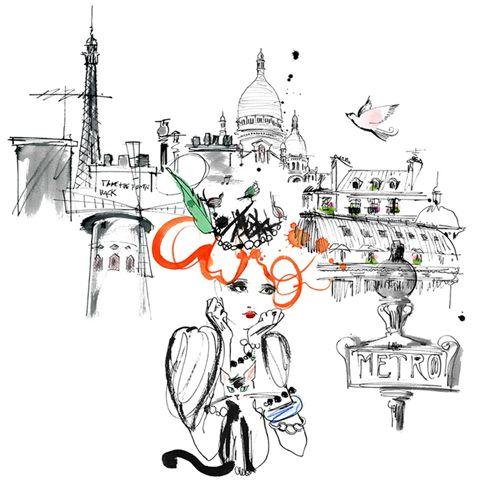 Mademoiselle Oiseau childrens book by Lovisa Burfitt and Andrea de La Barre de Nanteuil – Husligheter.se