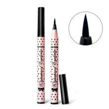 1 PCS HOT Mulheres Lady Beauty Maquiagem Delineador Preto À Prova D' Água Long-lasting Líquido Eye Liner Pencil Pen Maquiagem Cosméticos Bonito ferramenta alishoppbrasil