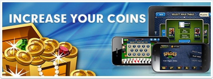 free spades plus coins daily spin