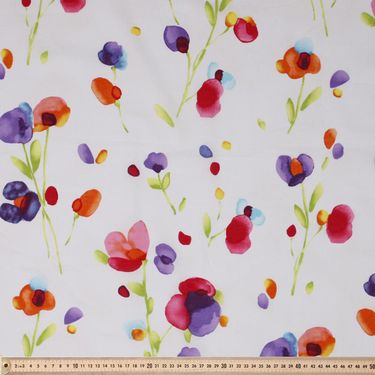 Japanese Water Colour Floral Lawn