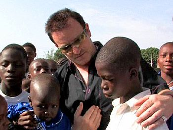 U2's Bono in Africa. Here's what vision can do. A simple musician, son of a postal worker, has gone on to use his celebrity in support of over 50 different charities; he is working feverishly to help eradicate AIDS in Africa, and has worked to achieve debt relief for numerous countries that would otherwise languish under financial burden for generations. He is someone whose contributions students will read about many years from now, as his legacy unfolds.