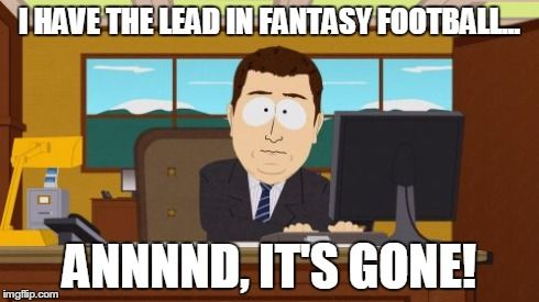 fantasy football; humor; funny