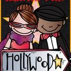 Let's go to HOLLYWOOD. This set includes the following:  Student Binder cover and Teacher Binder cover ( MS Word so you can add student's name) Sta...