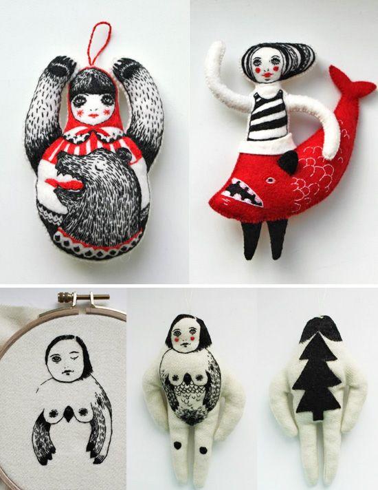 Nadya Sheremet, embroidered imagination