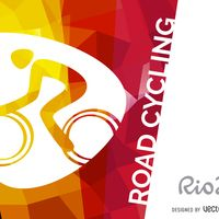 Rio 2016 road cycling poster
